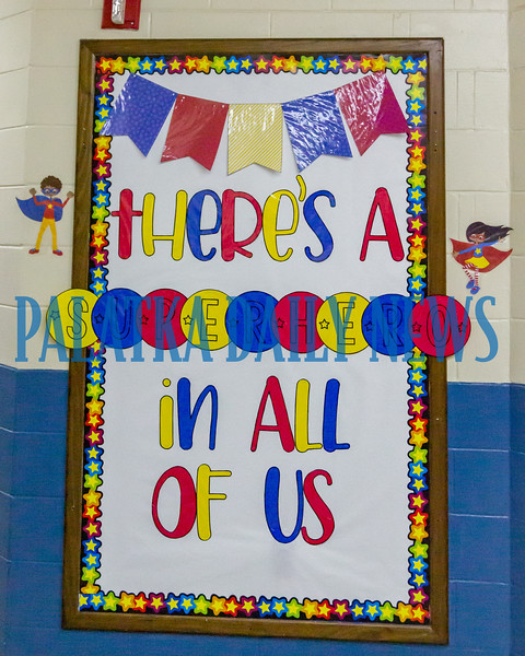 The Browning-Pearce theme for the year is finding the superhero in all of the students and developing their superpowers. Fran Ruchalski/Palatka Daily News