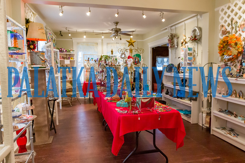 The Palatka Art League Christmas in July event began on Friday afternoon and continues on Saturday 10 a.m.-4 p.m. and Sunday noon-4 p.m. Fran Ruchalski/Palatka Daily News