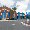 Capital City Bank in East Palatka is boarded up tight in advance of Hurricane Dorian. Fran Ruchalski/Palatka Daily News
