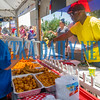 Choosing what you were going to eat at the Blue Crab Festival was no easy task with so many different kinds of food to satisfy your appetite. Fran Ruchalski/Palatka Daily News