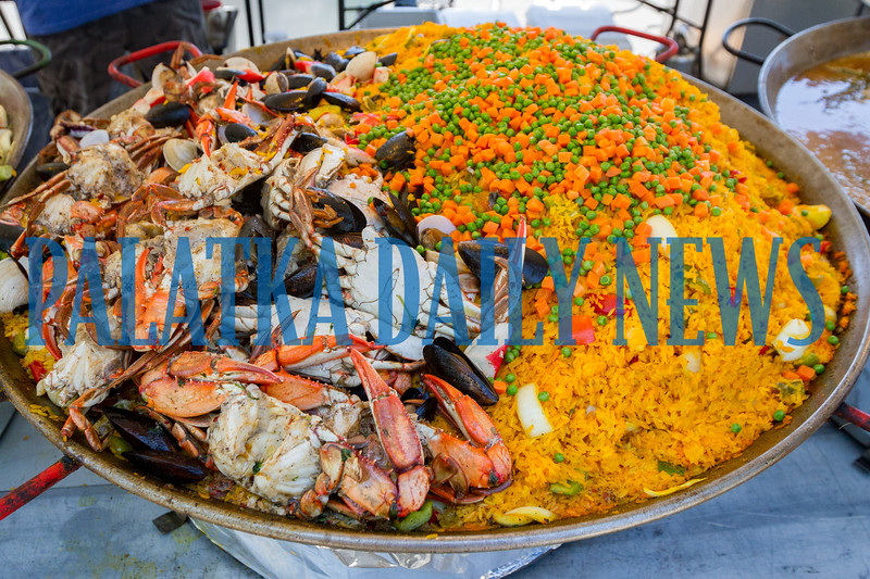 Some of the incredible food combinations that is available at the Blue Crab Festival. Fran Ruchalski/Palatka Daily News
