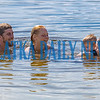 Mike Stoltz, from left, Audrey Polgar, Braysen Abby, 2, and Chloe Polgar, 9, enjoy a nice family swim in Lake Stella in Crescent City on Monday afternoon. Fran Ruchalski/Palatka Daily News
