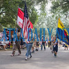 The Boy Scouts lead the Independence Day parade through the streets of Interlachen. Fran Ruchalski/Palatka Daily News