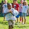 Marreo Jones, 7, does what he can to keep his egg on the spoon in the spoon race during the FFA ag day students at Jenkins Middle School held at their farm for students from the Joseph A. Long Elementary School on Monday. Fran Ruchalski/Palatka Daily News