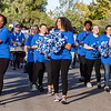 The members of the color guard had a good time as they marched in the homecoming parade. Fran Ruchalski/Palatka Daily News