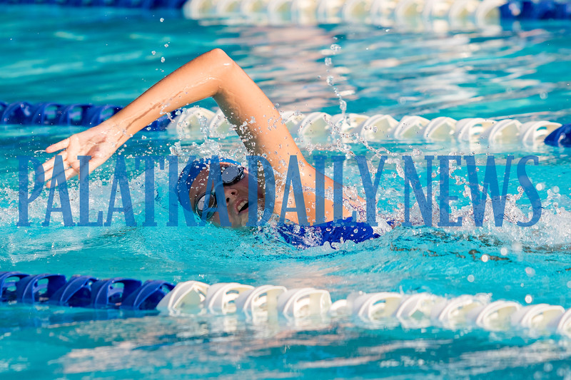 Lily Tallerico 100 Freestyle