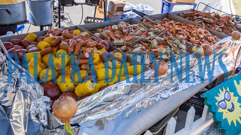 Interested in a low country boil? You can find it along with many other tantalizing dishes at the Blule Crab Festival. Fran Ruchalski/Palatka Daily News
