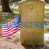 The Military Officers Association in conjunction with several schools and community organizations put flags on the graves of veterans in honor of their service in cemeteries throughout Putnam County as we celebrate Memorial Day this coming Monday. Fran Ruchalski/Palatka Daily News