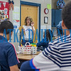 Rebecca Motes talks to her third period Jobs For Graduates students on Thursday morning about preparing for the upcoming career and college fair being held at Palatka High School. Fran Ruchalski/Palatka Daily News