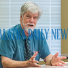 Business incubator consultant Jim Greenwood talked to local leaders Tuesday about doing a feasibility study to see if a business incubator could be successful in Palatka. Fran Ruchalski/Palatka Daily News
