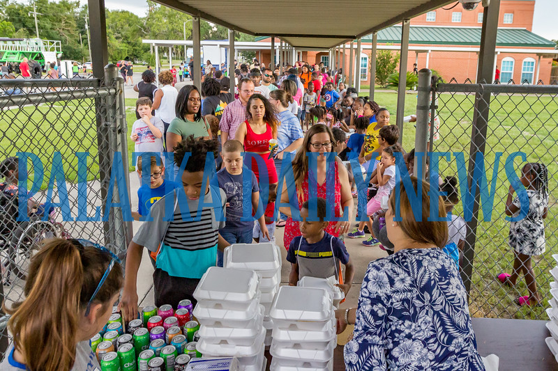And the celebration concluded with chicken dinners for all. Fran Ruchalski/Palatka Daily News