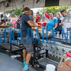 Hungry festival goers lined up for their favorite seafood on Saturday afternoon and the crew kept dishing it up as fast as they could. Fran Ruchalski/Palatka Daily News