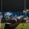 Interlachen's Reginald Allen (14) makes a sideline catch for the Rams in the second half. Fran Ruchalski/Palatka Daily News