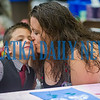 Meaghan Howard gives her son, Jaden Mayo, 7, a big kiss  in Ms. Greene's class for the Mother's Day celebration at Interlachen Elementary School on Friday morning. Fran Ruchalski/Palatka Daily News