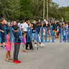 To celebrate the progress made this past year, people were dancing in the street outside Moseley Elementary School on Tuesday night. Fran Ruchalski/Palatka Daily News