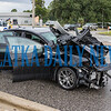 The second vehicle involved in the crash at 19th and Reid Streets Friday morning. Fran Ruchalski/Palatka Daily News