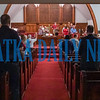 The entire congregation sings Amazing Grace to end the 9/11 prayer service. Fran Ruchalski/Palatka Daily News