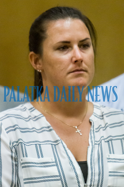 Putnam County Sheriff's Office detective Kacie Reynolds was the officer who took the lead in running down a bank card skimming operation that was recently cracked in Putnam, Duval, Clay and other counties. Fran Ruchalski/Palatka Daily News