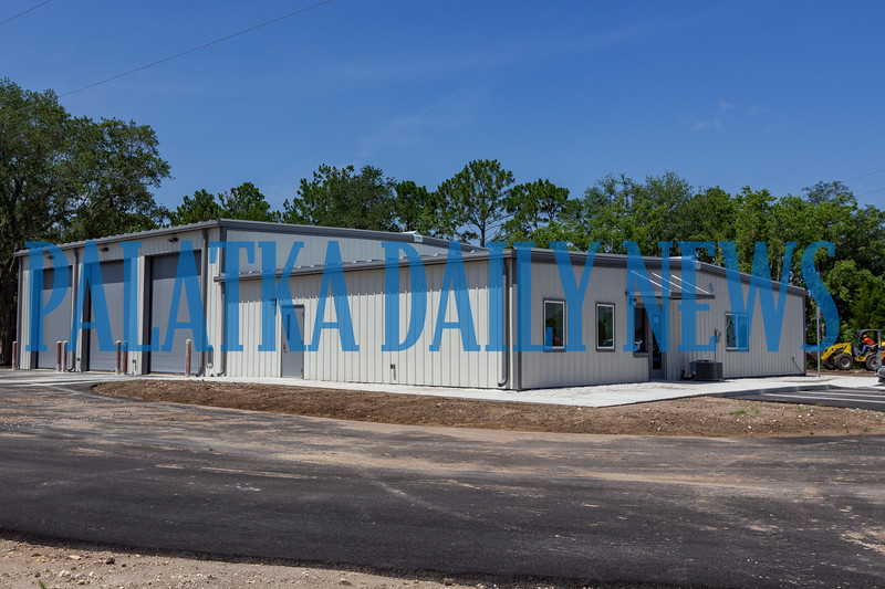 The new East Palatka fire station on SR 207 is set to be operational in the very near future. Fran Ruchalski/Palatka Daily News