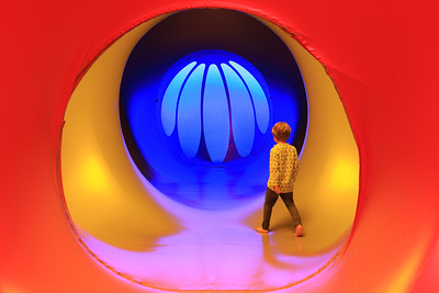 Daedalum Luminarium immersive installation opens at Royal Albert Dock, London, UK - 21 June 2019