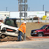 Construction continues Wednesday along a recent road project near I-44 and Hearnes Boulevard.<br /> Globe | Laurie Sisk