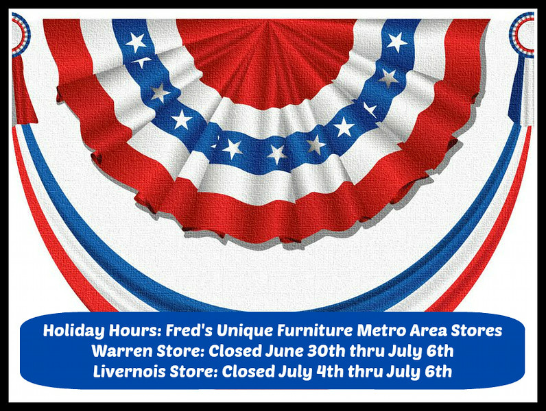 Summer Break ~ July 4th Holiday Hours
