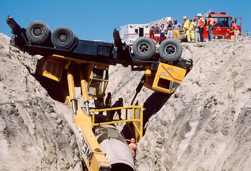 Overturned Cement Truck I