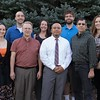 New Chadron State College faculty, back row, from left, Markus Egeler Jones (English and Humanities), Dr. Mary Clai Jones (English and Humanities), Dr. Gregory Moses (Math) and Cassandra Ritzen (Business). Front row, from left, Dr. Johnica J. Morrow (Physical and Life Sciences), Lonnie Hosman (Business), Detsinh Sayaloune (Math)and Dr. Rick Puzzo (Music). Not pictured: Michael Knight (Music). (Tena L. Cook/Chadron State College)