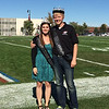 Lane Swedberg and Jessica Orose crowned 2015 Chadron State College Homecoming King and Queen. (Photo by Conor Casey)