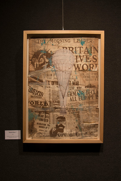 World War I,  a multimedia piece by Chris Blume, is on display with an exhibit in Memorial Hall's Gallery 239 through Oct. 9.
