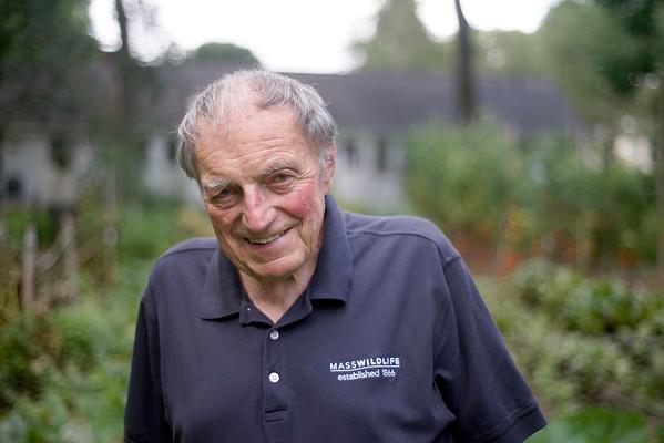 "George L. ""Gige"" Darey at his Lenox home, Wednesday August 17, 2016. Ben Garver — The Berkshire Eagle | photos.berkshireeagle.com"