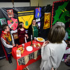 KRISTOPHER RADDER — BRATTLEBORO REFORMER<br /> Students from St. Michael's Roman Catholic Church host their annual Night at the Museum  on Thursday, April 11, 2019.