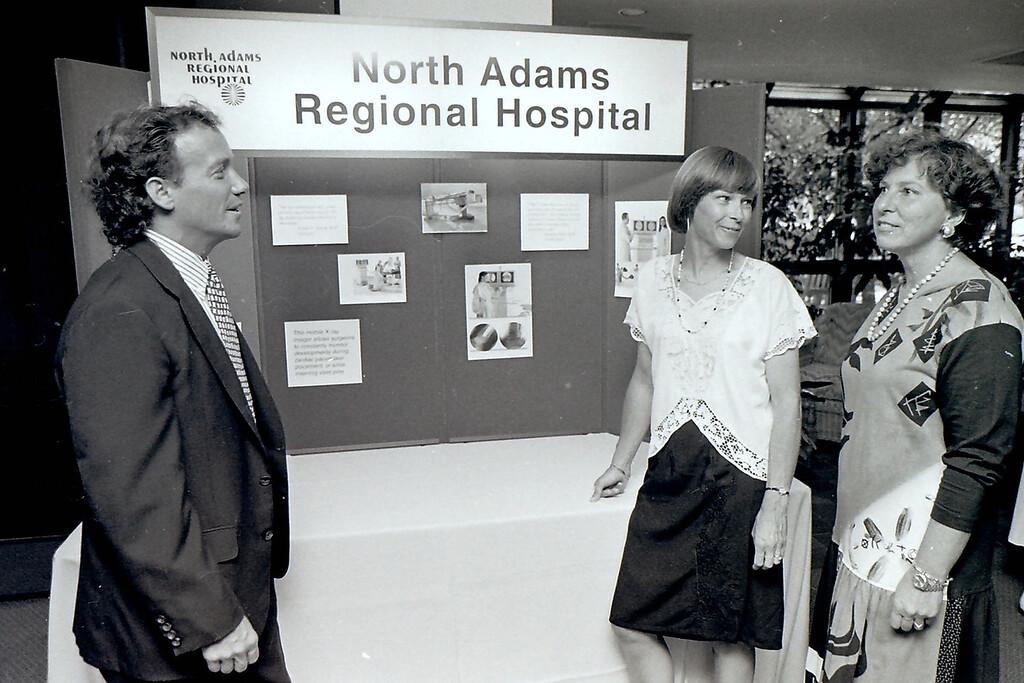. July, 24, 1995. Gillian Jones/North Adams Transcript File