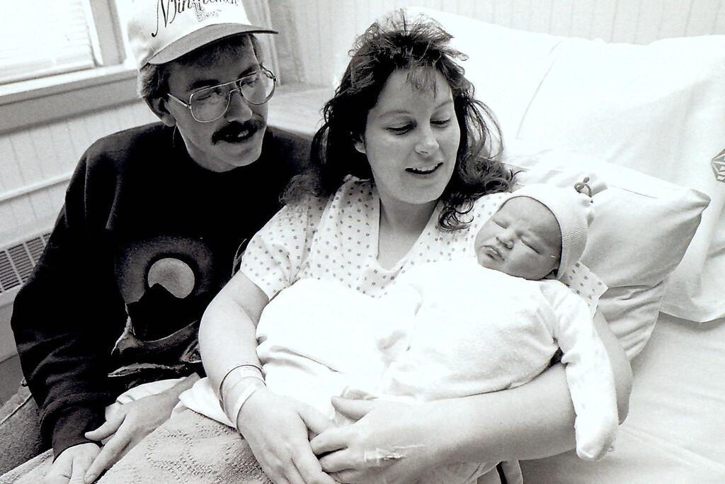 . New Year\'s Baby 1996. January, 26, 1996. Gillian Jones/North Adams Transcript file