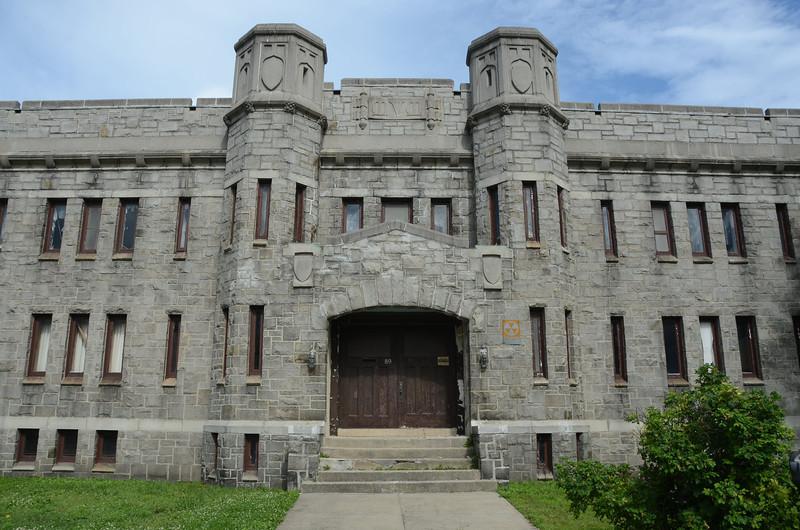 The Armory on Park Street in Adams. (Gillian Jones/North Adams Transcript)