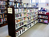 New shelving for the North Adams Public Library's audio book collection was purchased with funds from  Barbara Lesage, who recently left a large sum of money to the library in her will for audio books. (Jennifer Huberdeau/North Adams Transcript)