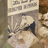 ELODIE REED - FOR THE BERKSHIRE EAGLE The first ever crystal Larry Michon mined was a Herkimer Diamond, or a double-terminated quartz crystal, in Fonda, N.Y. back in 1998.