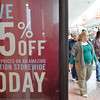 J.S.CARRAS - JCARRAS@DIGITALFIRSTMEDIA.COM  Shoppers look for sales during Black Friday shopping Friday, November 28, 2014 at Wilton Mall in Wilton, N.Y..