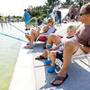 be0927fishing6.jpg Christian Urbonas, age 3, and his dad James, fish with sister Molly, age 6, and mom Jen at Bay Aquatic Center on Saturday morning. Sept. 21, 2012 during Fishing at the Bay in Broomfield. Photo by Matt Kelley