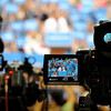 "President Barack Obama is seen through the viewfinder of a video camera as he speaks to the crowd on Thursday, Nov. 1, during a campaign visit at the Coors Event Center on the University of Colorado campus in Boulder. For more photos and video of the event go to  <a href=""http://www.dailycamera.com"">http://www.dailycamera.com</a>"