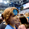 "Kyan Restaino shows his support of the President.<br /> President Barack Obama speaks to a crowd in the Coors Events Center on the University of Colorado campus on November 1, 2012.<br /> For more photos of Obama, go to  <a href=""http://www.dailycamera.com"">http://www.dailycamera.com</a>.<br /> Cliff Grassmick / November 1, 2012"