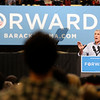"Senator Mark Udall speaks inside the Coors Event Center on the University of Colorado campus during President Obama's campaign visit on Thursday, Nov. 1. For more photos and video of the speech go to  <a href=""http://www.dailycamera.com"">http://www.dailycamera.com</a><br /> Jeremy Papasso/ Camera"