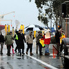 Occupy Ports.JPEG-0929e.JPG Dozens of Occupy protesters gather Monday morning, Dec. 12, 2011, outside the gates of the Port of Hueneme, Calif., as part of an effort by activists to block ports up and down the West Coast. Protesters were walking slowly across the walkway, slowing down traffic. (AP Photo/Ventura County Star, Juan Carlo)