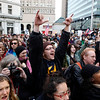 Occupy Ports.JPEG-0944c.JPG Members of the crowd cheer as Iraq war veteran Scott Olsen, who suffered a head injury during a protest in Oakland on Oct. 25, speaks at a rally at Frank Ogawa Plaza, Monday, Dec. 12, 2011, in Oakland, Calif. (AP Photo/Beck Diefenbach)