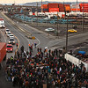Occupy Ports Seattle.JPEG-0.JPG Protesters man a barricade blocking entry to the Port of Seattle on Monday, Dec. 12, 2011 in Seattle. Hundreds of anti-Wall Street protesters gathered at the port and tried to shut down operations. (AP Photo/seattlepi.com, Joshua Trujillo)  SEATTLE POST INTELLIGENCER OUT MAGS OUT NO SALES