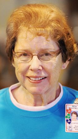 Globe/T. Rob Brown<br /> Notable: Marcella Barlow, of Webb City, who volunteers at the Ronald McDonald House in Joplin.