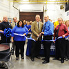 Globe/T. Rob Brown<br /> The grand opening ribbon cutting Monday morning, Oct. 22, 2012, for the remodeled Career Center and Public Safety departments at the Carthage Technical Center - North Campus.