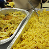 Globe/T. Rob Brown<br /> Boiled cabbage and ham, left, and seasoned macaroni and cheese are served during the recent Soul Food Cookoff in Joplin.