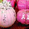 "Employees of NorthwestRadiologyNetwork, 96th Street and Zionsville Road, blinged-out 42 pink pumpkins in support of Breast Cancer Awareness Month. The pumpkins were judged, and five winners were named. Winners recieved a Yankee candle with a Halloween topper, and the decorated pumpkins will be used to adorn the tops of office cubicles during October. It's the first year for the contest, whcih also took place at the company's other three locations. ""We just want to get the point across we support Breast Cancer Awareness Month,"" said Marketing Manager Debbie Lawrence."