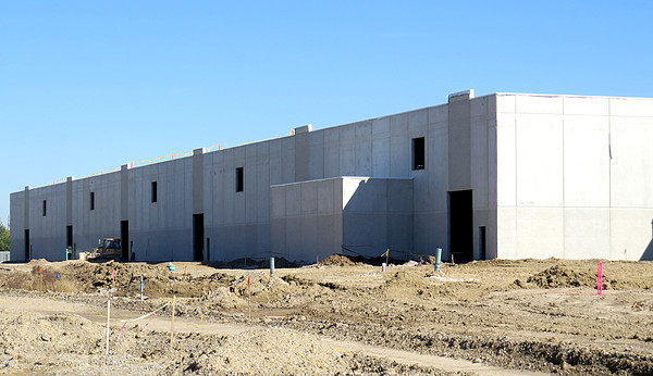 The FedEx Ground distribution center has been taking shape since breaking ground in late May. The 300,000 square feet facility is right on schedule and should be open in August 2014.